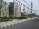 川越町役場緑化工事南側より